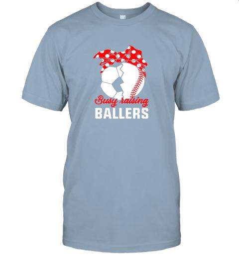 pp75 busy raising a ballerfunny baseball soccer mom jersey t shirt 60 front light blue