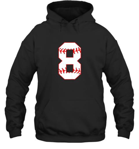 Cute eighth Birthday Party 8th Baseball Shirt Born 2011 Hoodie