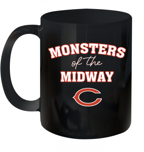 Monsters of The Midway Ceramic Mug 11oz