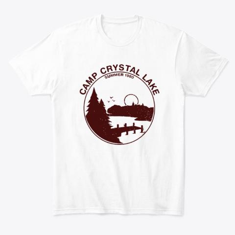 Camp Crystal Lake Summer 1980 Friday The 13th T-Shirt