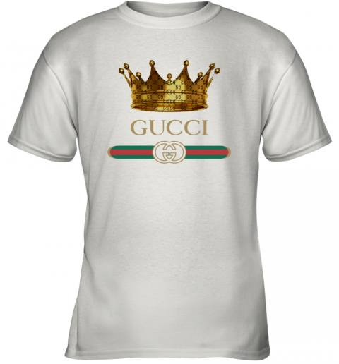 King Gold Gucci Logo Youth T-Shirt