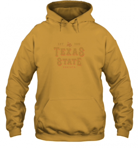 5ztm texas state bobcats womens college ncaa hoodie 23 front gold