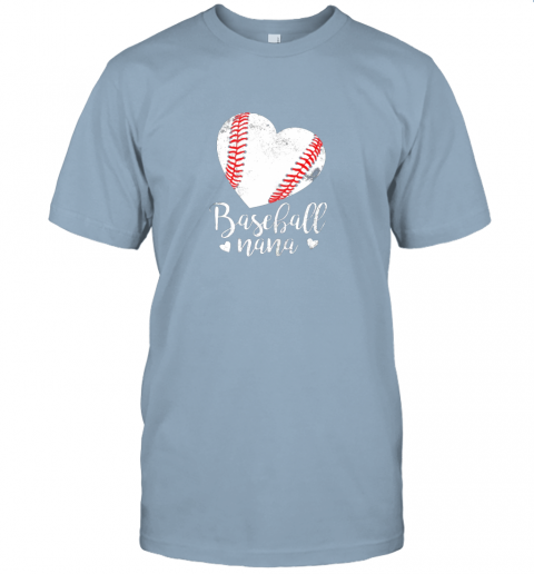 lqe2 funny baseball nana shirt gift for men women jersey t shirt 60 front light blue