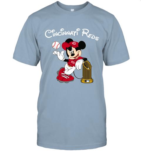 Cincinnati Reds Mickey Taking The Trophy MLB 2019 Unisex Jersey Tee