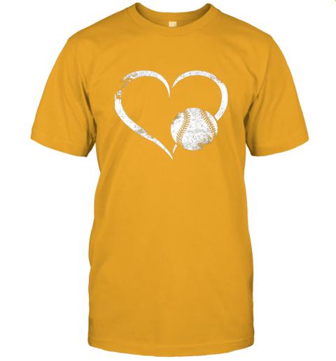 npdr i love baseballl funny baseball lover heartbeat jersey t shirt 60 front gold