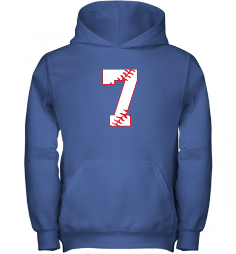uehl cute seventh birthday party 7th baseball shirt born 2012 youth hoodie 43 front royal