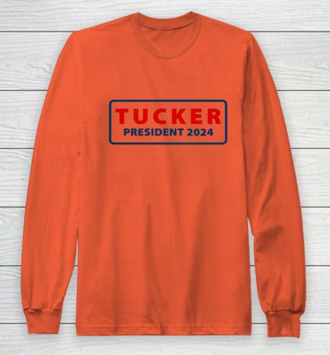 Tucker for President 2024 Tucker Carlson 2024 Long Sleeve T-Shirt 3