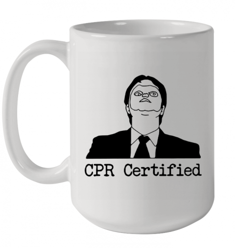 First Aid Fail CPR Certified The Office Ceramic Mug 15oz