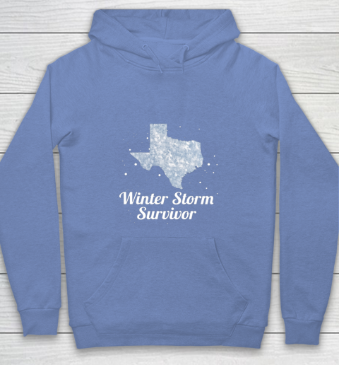I Survived Winter Storm Texas 202 Youth Hoodie 8