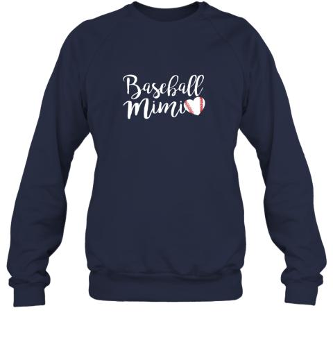 wj5g funny baseball mimi shirt gift sweatshirt 35 front navy
