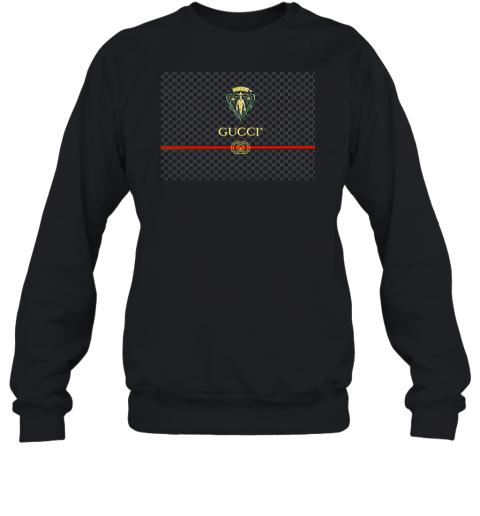 Gucci Graphic Logo Black Adult Crewneck Sweatshirt