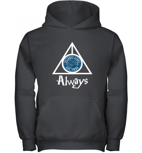 Always Love The Detroit Lions x Harry Potter Mashup NFL Youth Hoodie