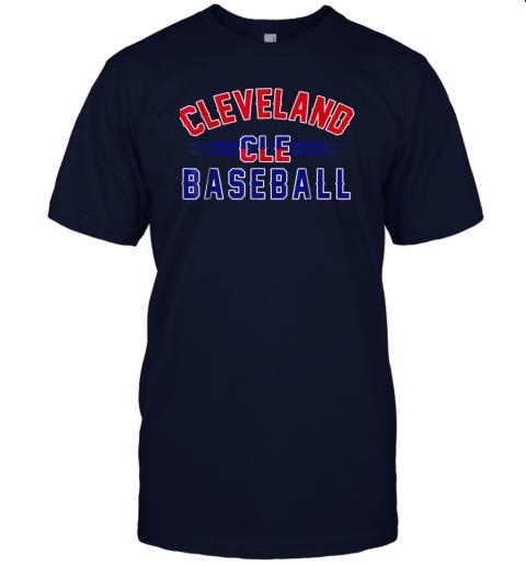 wvmo cleveland cle baseball jersey t shirt 60 front navy