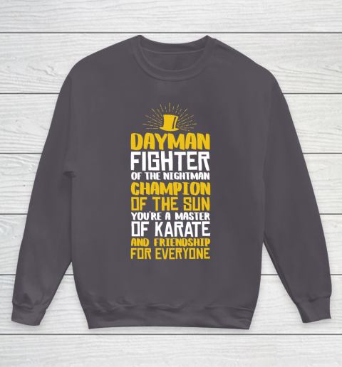 Beer Lover Funny Shirt DAYMAN! Champion of the Sun Youth Sweatshirt 5