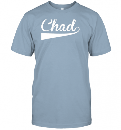 ovom chad country name baseball softball styled jersey t shirt 60 front light blue