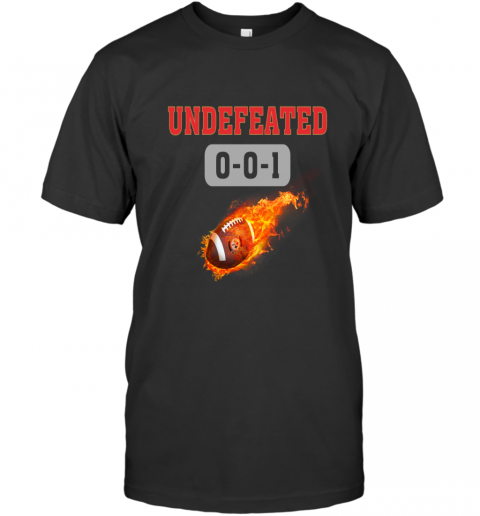 NFL PITTSBURGH STEELERS LOGO Undefeated T-Shirt