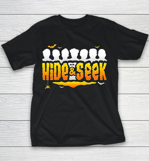 Sidemen Hide And Seek Halloween Youth T-Shirt 1