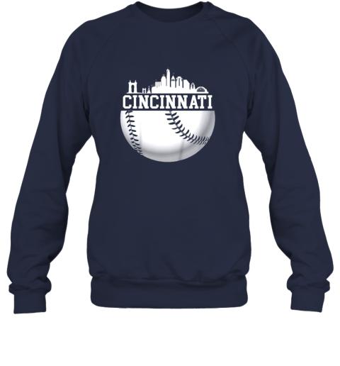 nutw vintage downtown cincinnati shirt baseball retro ohio state sweatshirt 35 front navy