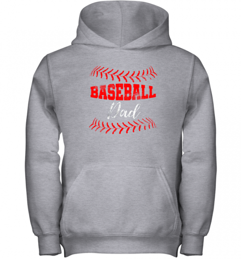 5nit mens baseball inspired dad fathers day youth hoodie 43 front sport grey