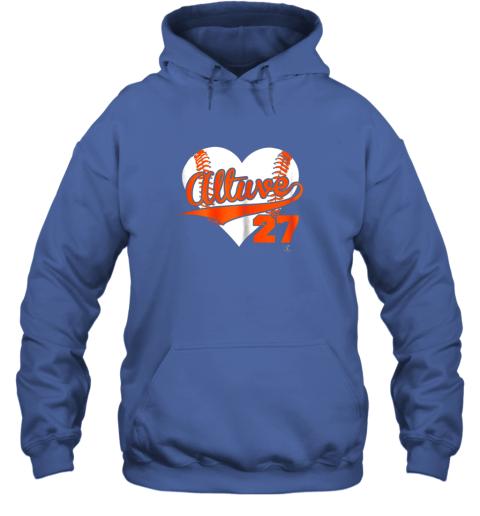 ndnz jose altuve baseball heart shirtapparel hoodie 23 front royal