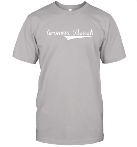p1qo hermosa beach baseball softball styled jersey t shirt 60 front ash