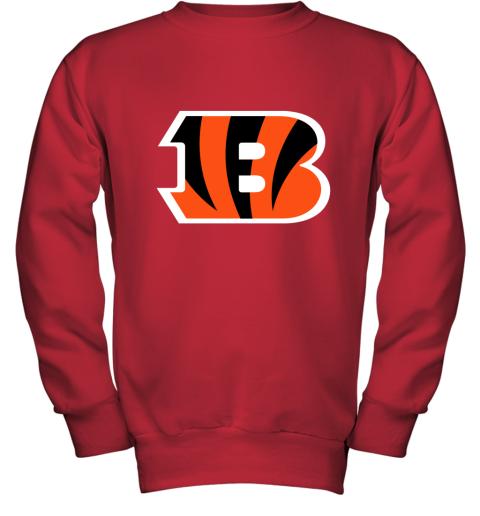 Cincinnati Bengals NFL Line Gray Victory Youth Sweatshirt