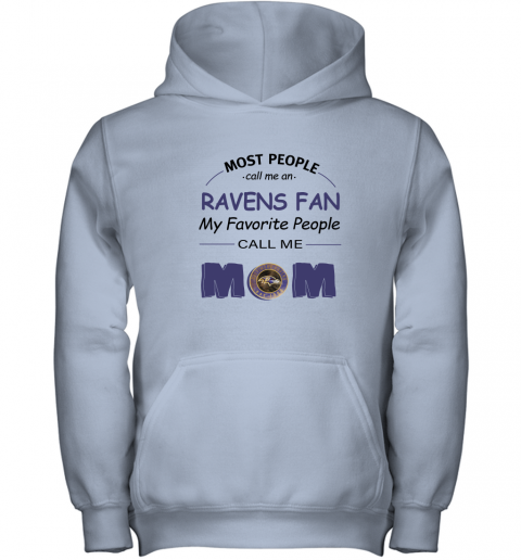 96nq most people call me baltimore ravens fan football mom youth hoodie 43 front light pink