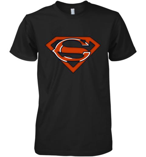 We Are Undefeatable The Chicago Bears x Superman NFL Premium Men's T-Shirt