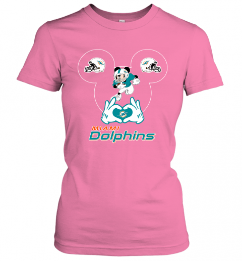 k7dy i love the dolphins mickey mouse miami dolphins ladies t shirt 20 front azalea