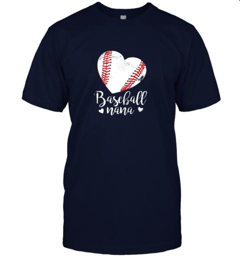 lqe2 funny baseball nana shirt gift for men women jersey t shirt 60 front navy