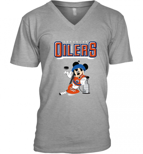 2xpo mickey edmonton oilers with the stanley cup hockey nhl shirt v neck unisex 8 front sport grey