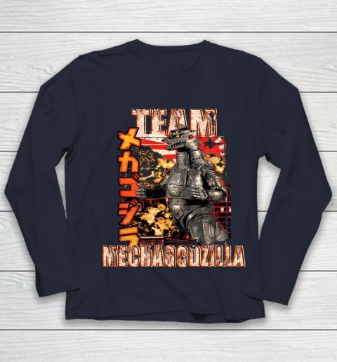 Team Mechagodzilla Japan Vintage Style Youth Long Sleeve 2