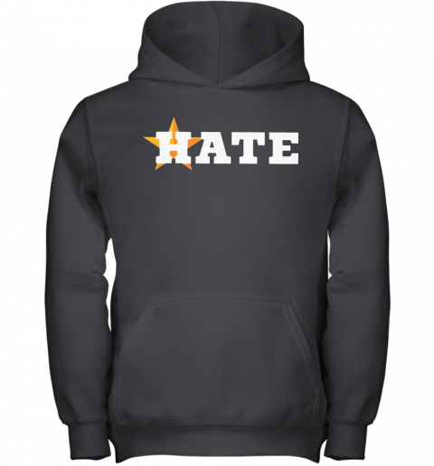 Houston Astros Hate Us Astros Youth Hoodie