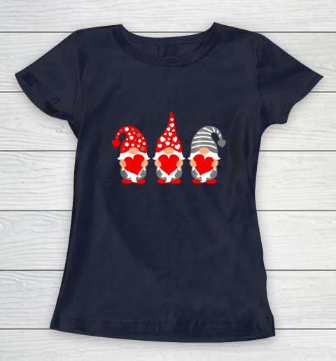 Gnomes Hearts Valentine Day Shirts For Couple Women's T-Shirt 2