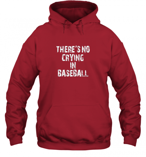 p9h0 there39 s no crying in baseball hoodie 23 front red