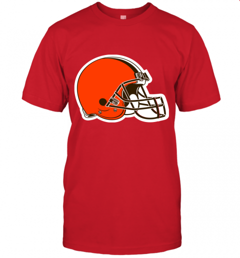 cpuw cleveland browns nfl pro line by fanatics branded brown victory jersey t shirt 60 front red