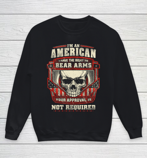 Veteran Shirt Gun Control Right To Bear Arms Youth Sweatshirt