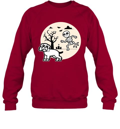 Funny Schnauzer Dog Lovers Costume Halloween Dachshund Sweatshirt