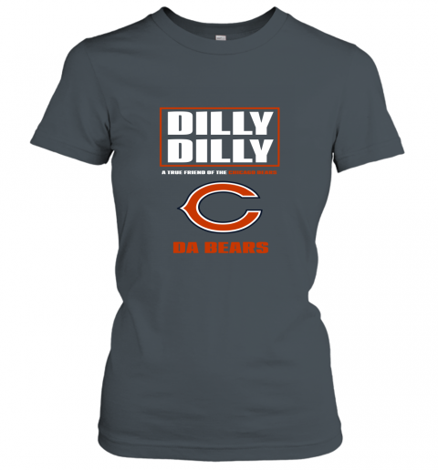rojk dilly dilly a true friend of the chicago bears ladies t shirt 20 front dark heather