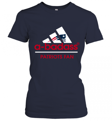 0jrk a badass new england patriots mashup adidas nfl shirts ladies t shirt 20 front navy