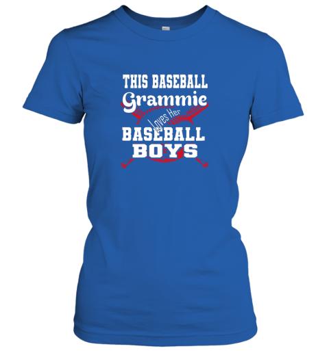 2pmy this baseball grammie loves her baseball boys ladies t shirt 20 front royal