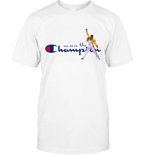 we are the champions freddie mercury QUEEN T-Shirt