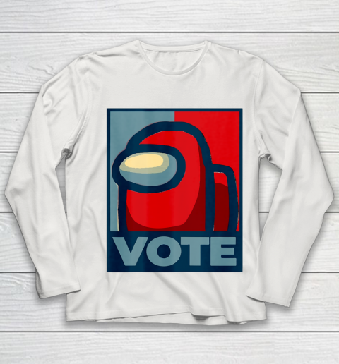 Who is the Impostor neu Among with us start the vote Youth Long Sleeve 11