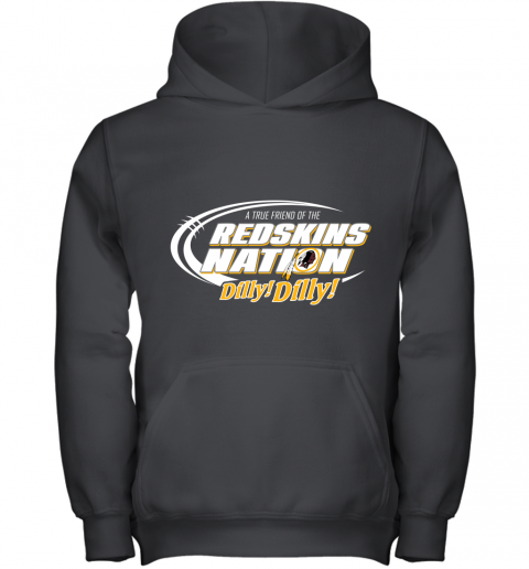A True Friend Of The Redskins Nation Youth Hoodie