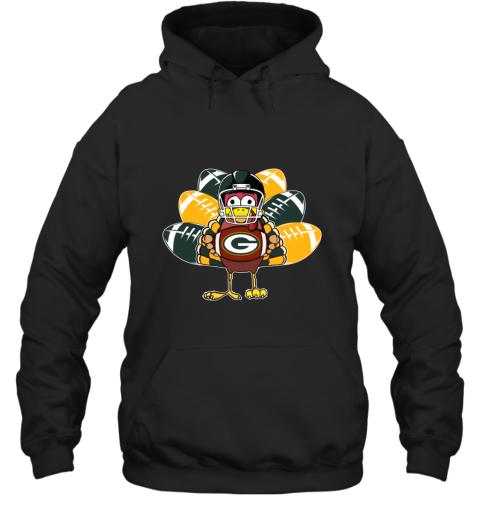 Green Bay Packers  Thanksgiving Turkey Football NFL Hoodie