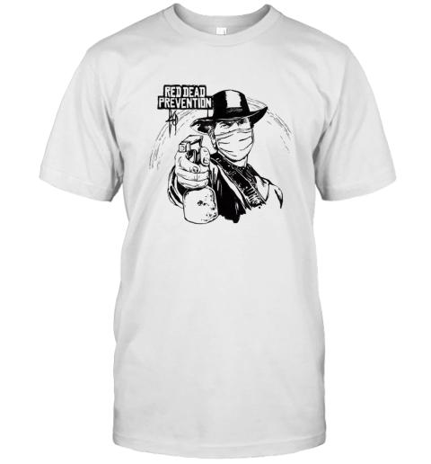 Red Dead Prevention quarantine shirt