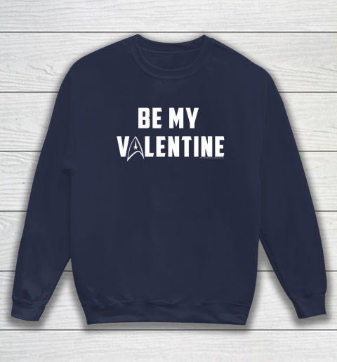 Star Trek Be My Valentine Delta Badge Graphic Sweatshirt 2