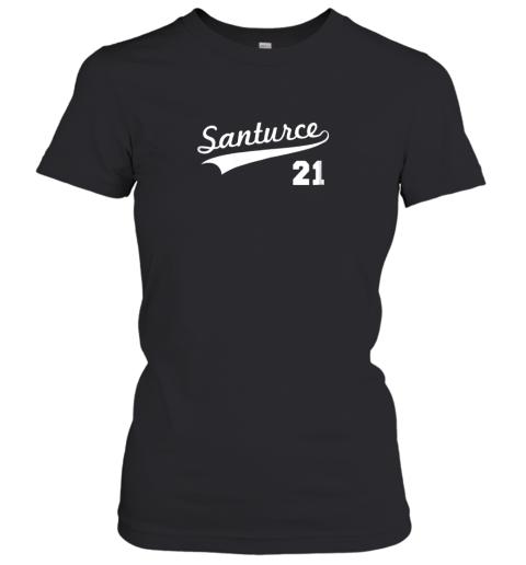 Vintage Santurce 21 Puerto Rico Baseball Women's T-Shirt