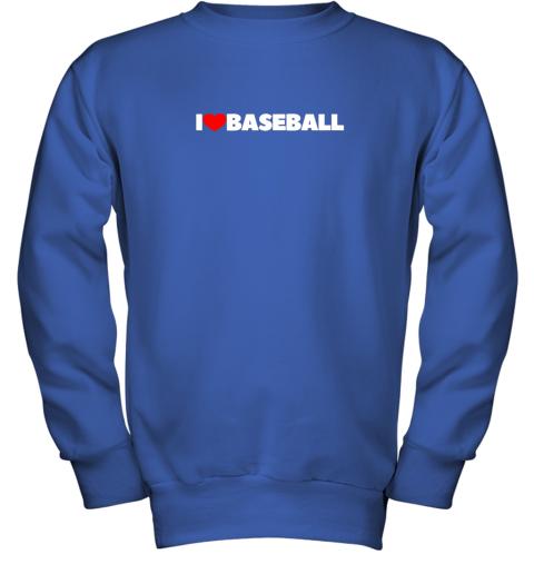 valw i love heart baseball youth sweatshirt 47 front royal
