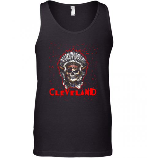 Cleveland Hometown Indian Tribe Vintage Baseball Fan Awesome Tank Top